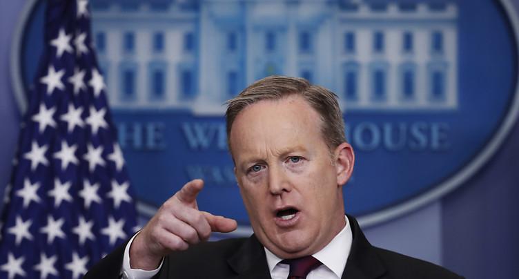 Plusieurs médias privés d'accès au briefing de la Maison-Blanche