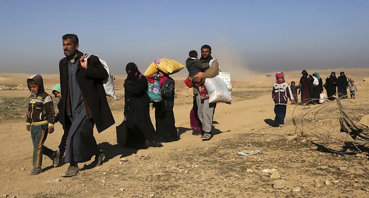 L'armée irakienne avance dans Mossoul tandis que les civils fuient