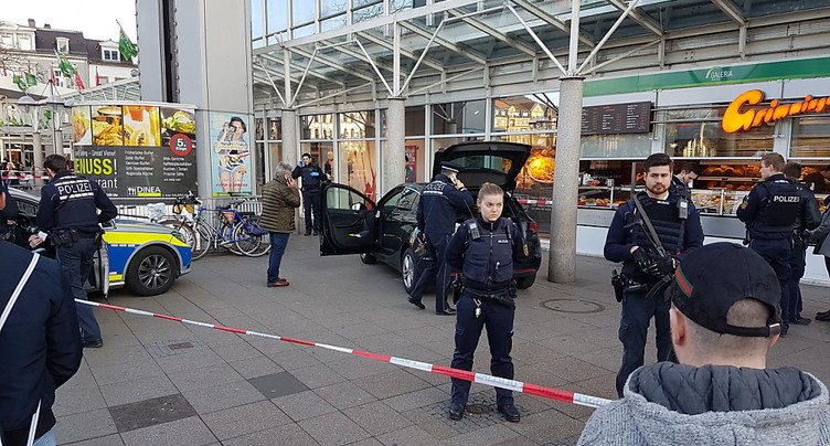 Une voiture fonce sur des passants à Heidelberg, trois blessés
