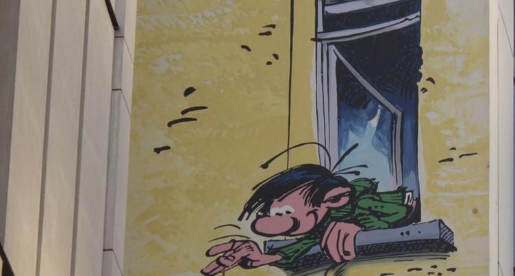 Personnage culte de la BD, Gaston fête 60 ans de gaffes