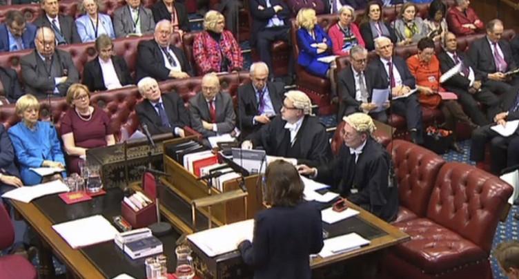 Les Lords anglais planchent à nouveau sur le lancement de la sortie de l'UE
