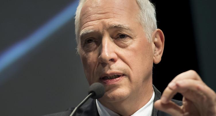 Jacques de Watteville futur président de la BCV