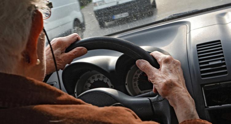 Le nombre de retraits de permis des retraités a augmenté de 21,5%