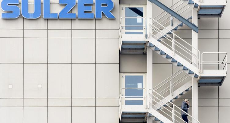 Bénéfice net et chiffre d'affaires en baisse pour Sulzer