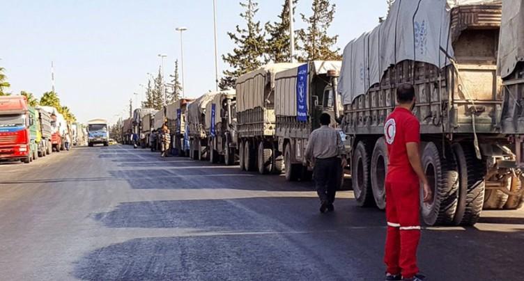 Syrie: la commission de l'ONU attribue au régime le raid contre un convoi