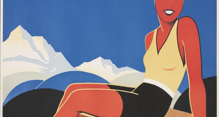 Cent ans de publicité touristique montrés à Zurich