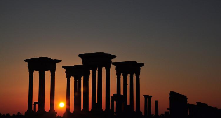 L'EI a fortement endommagé un monument des ruines de Palmyre