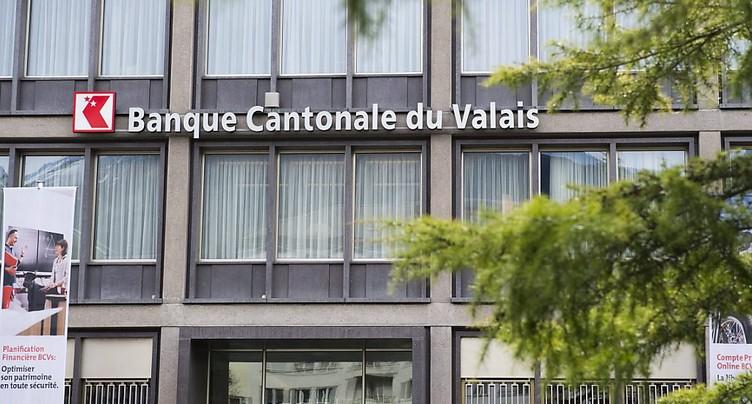 Bénéfice net en hausse pour la Banque cantonale du Valais en 2016