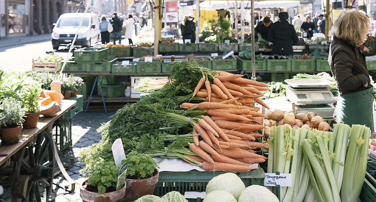 Les prix ont augmenté de 0,5% en février en Suisse