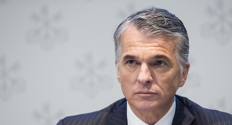 Sergio Ermotti, chef d'UBS, a vu sa rémunération baisser