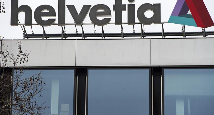 Helvetia a augmenté son bénéfice et son volume d'activité en 2016