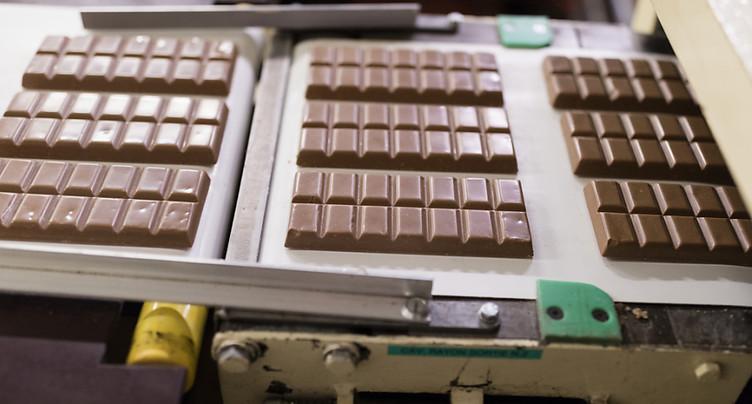 L'industrie chocolatière suisse en croissance l'an dernier