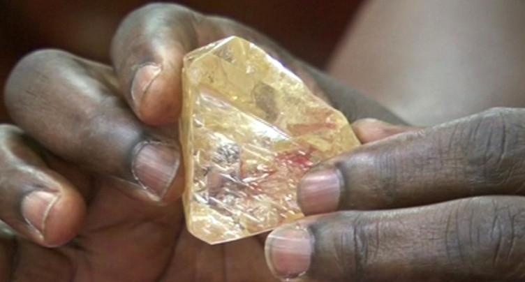 Découverte d'un diamant exceptionnel en Sierra Leone