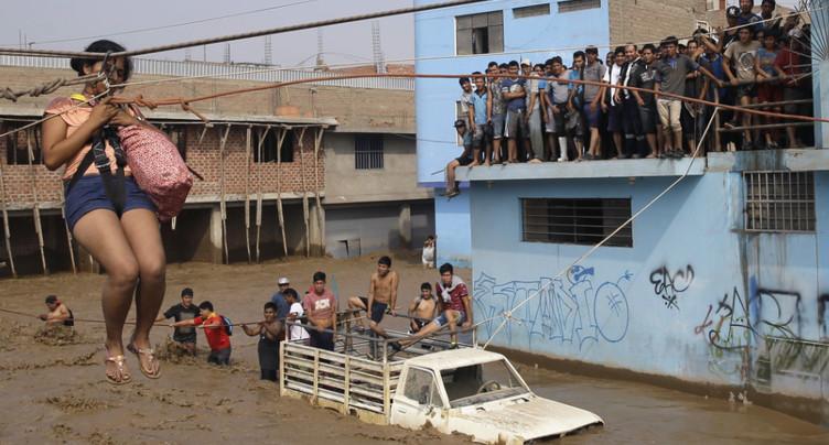 Des pluies diluviennes ont fait plus de 60 morts au Pérou