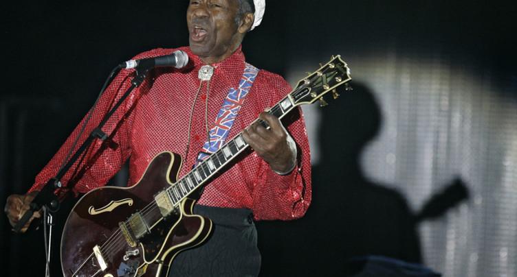 Mort de Chuck Berry, pionnier du rock'n'roll