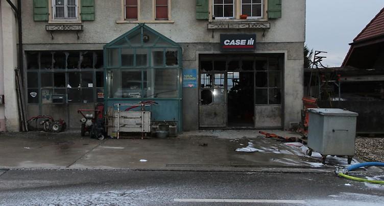 Deux hommes grièvement blessés lors d'une explosion à Lugnorre (FR)