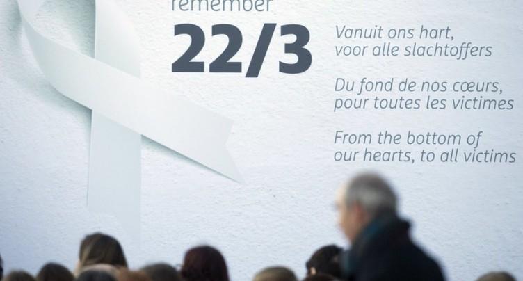 Une minute de silence un an après les attentats à Bruxelles