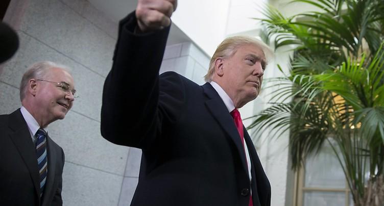 Obamacare: ultimes négociations avant le 1er grand vote pour Trump