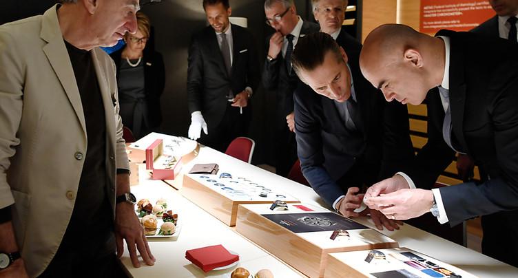 Le Salon de l'horlogerie officiellement ouvert par Alain Berset