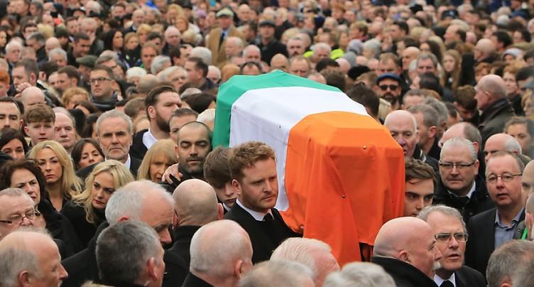Funérailles de Martin McGuinness dans sa ville de Derry