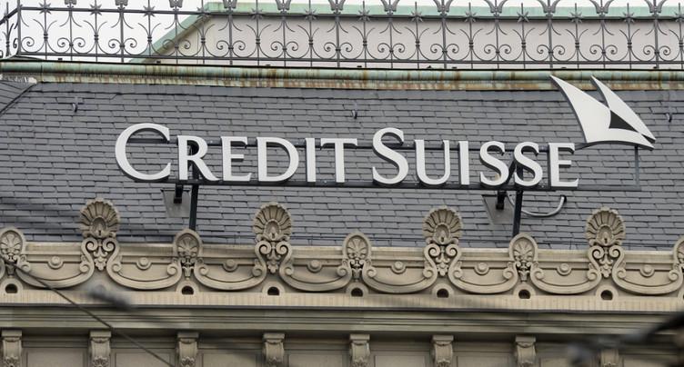 Credit Suisse essuie une perte plus élevée que prévu