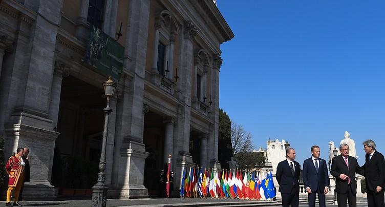 A 60 ans, l'UE s'engage pour un avenir commun malgré un divorce