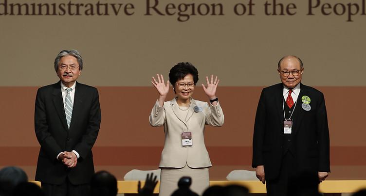 La favorite de Pékin désignée cheffe du gouvernement de Hong Kong