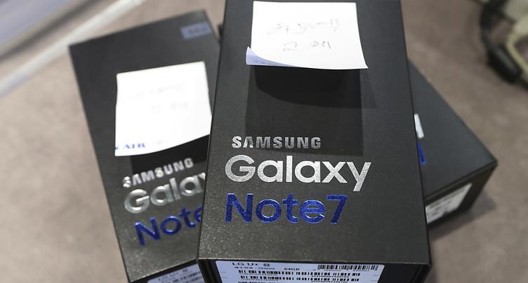 Samsung va reconditionner ses Galaxy Note 7 qui explosaient