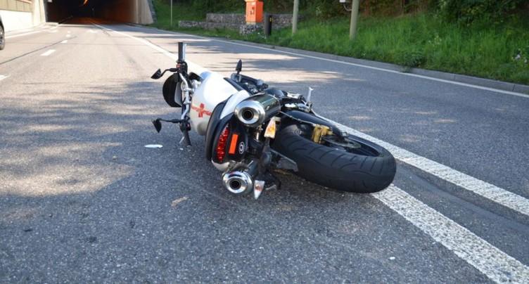 Les accidents de moto sont les plus coûteux