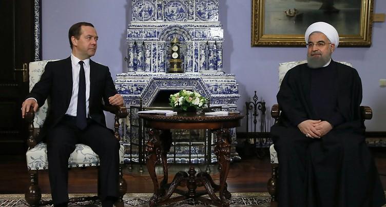 Le président iranien à Moscou pour des pourparlers sur la Syrie