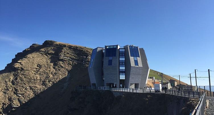 Inauguration du restaurant de Mario Botta au Monte Generoso
