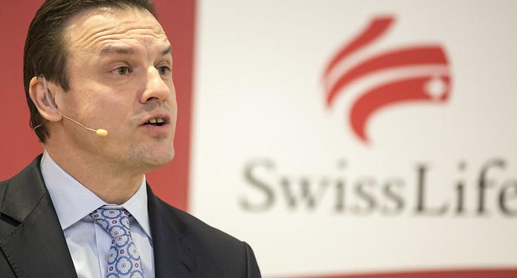 Le patron de Swiss Life en congé maladie pour plusieurs mois