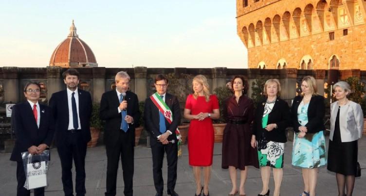 A Florence, le G7 Culture appelle à défendre le patrimoine mondial