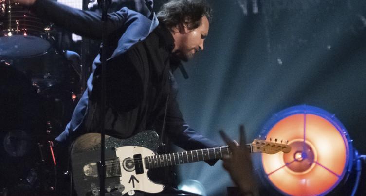 Pearl Jam et Joan Baez entrent au panthéon du rock