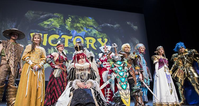Polymanga a attiré 42'300 fans de manga à Montreux (VD)