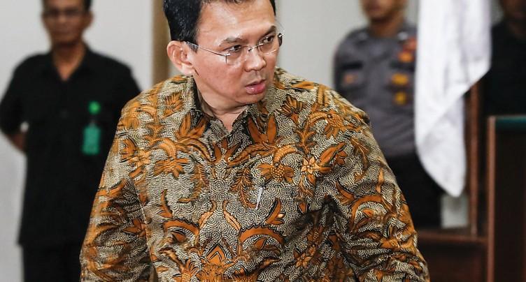 Le gouverneur chrétien de Djakarta en passe d'être battu