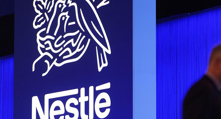 Légère hausse du chiffre d'affaires de Nestlé au premier trimestre