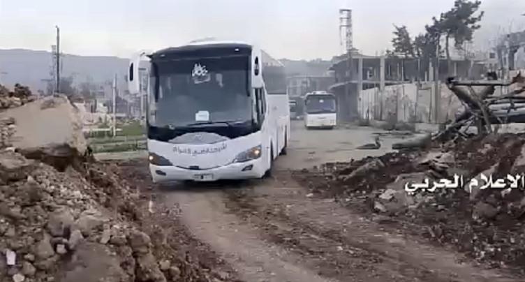 L'évacuation de 3000 Syriens bloquée en route