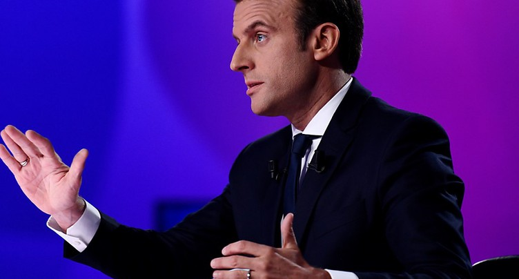 Macron, Le Pen, Fillon et Mélenchon dans la marge d'erreur