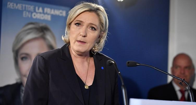 Le Pen cible le « terrorisme islamiste et le laxisme pénal »
