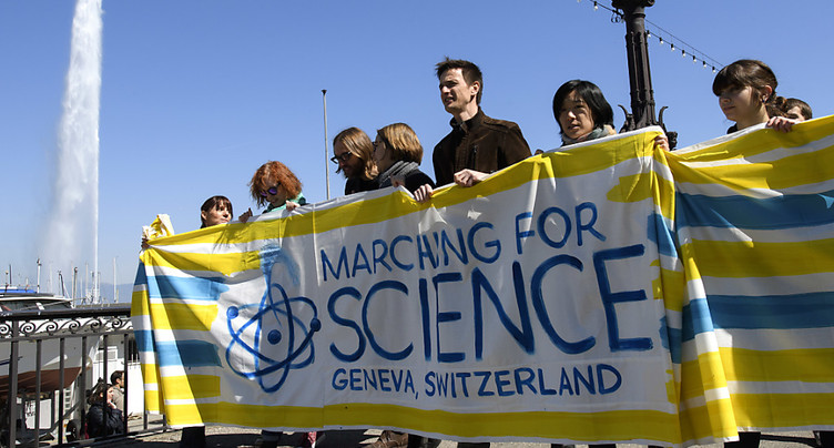 Des centaines de personnes se sont mobilisées pour la science