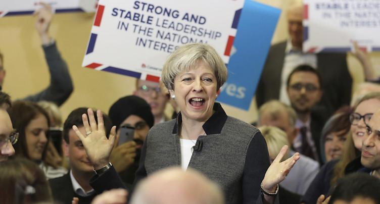 Les Tories au plus haut dans les sondages depuis 1991