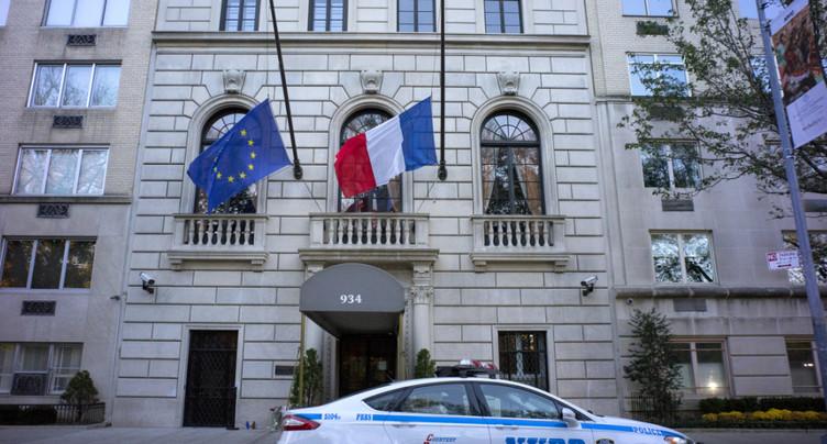 Consulat de France à New York évacué suite à une alerte à la bombe