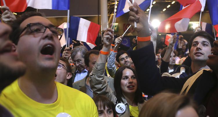 Macron: « On tourne clairement une page de la vie politique »