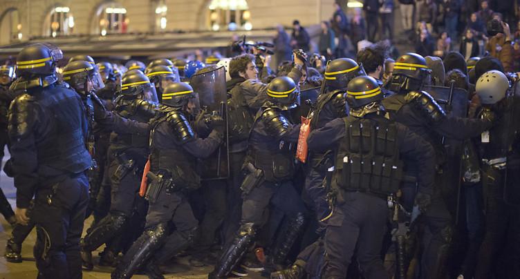 Près de 30 gardes à vue après une manifestation à Paris