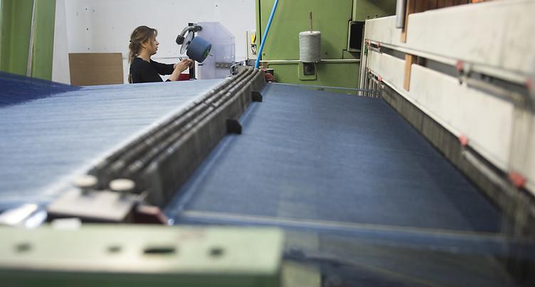 Les exportations textiles suisses ont à nouveau baissé en 2016
