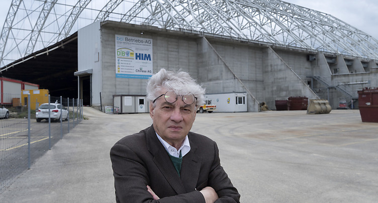 Projet de Mario Botta pour la décharge chimique de Bonfol (JU)