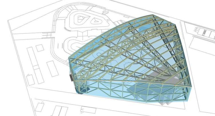 Le skatepark de Plainpalais (GE) se transforme en scène de théâtre