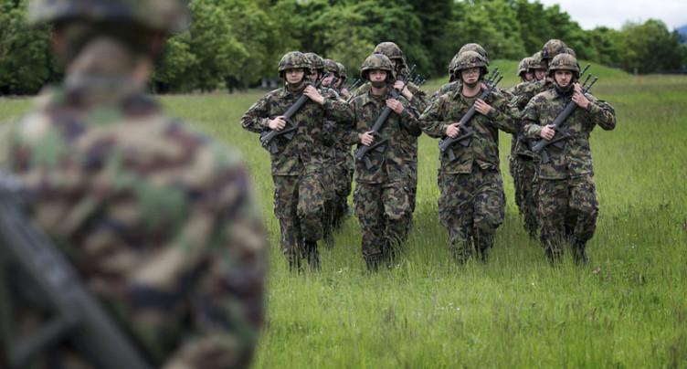 Augmentation des cas d'extrémisme dans l'armée suisse