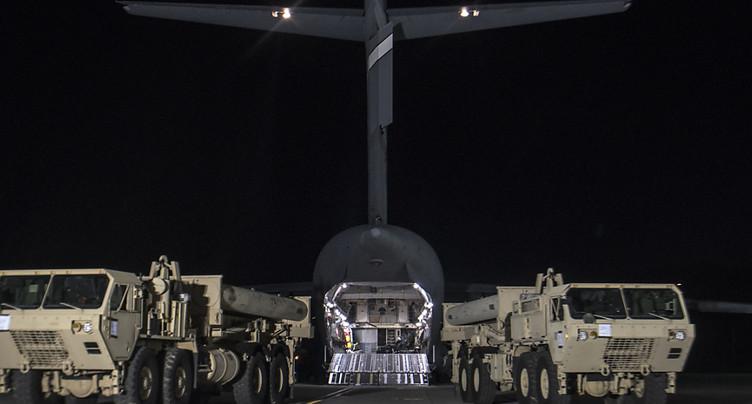 Corée du Sud: le bouclier antimissile américain arrive sur zone